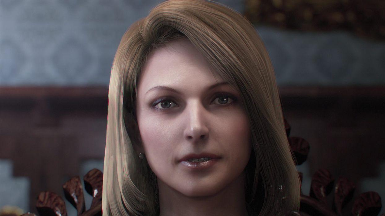 blondes women Resident Evil CGI Resident Evil Retribution wallpaper