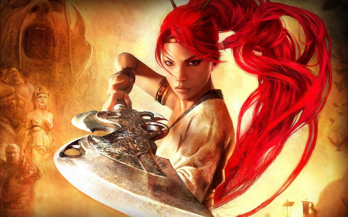 video games Heavenly Sword games wallpaper