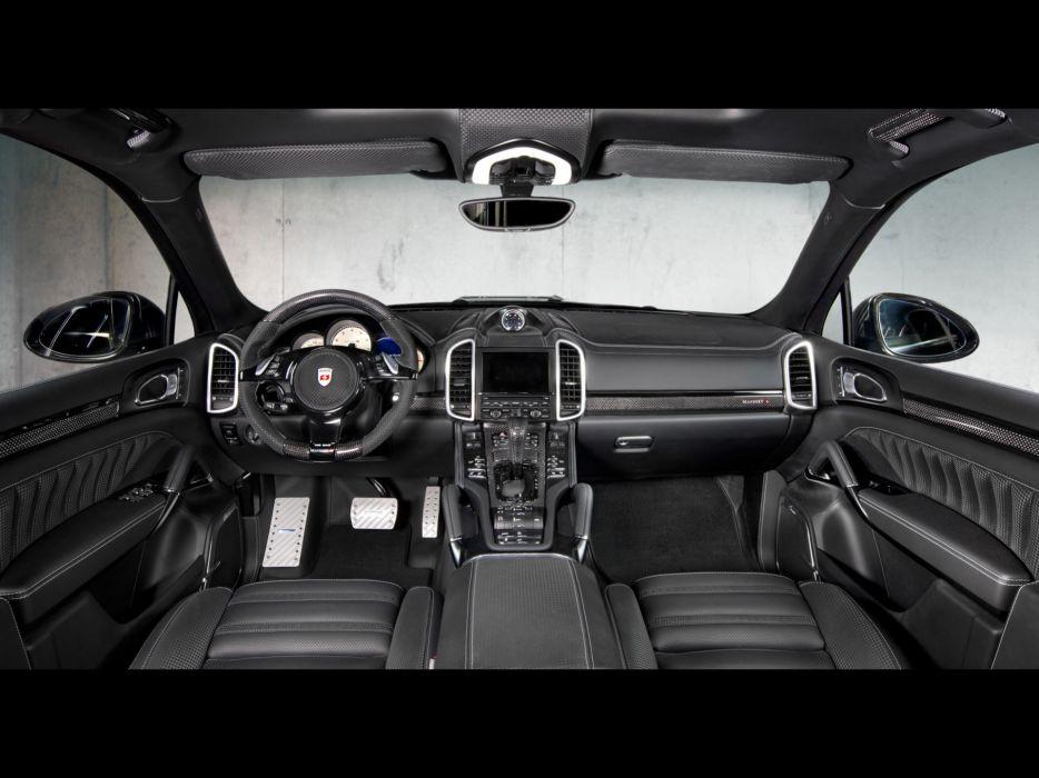 Porsche dashboards Porsche Cayenne Mansory wallpaper
