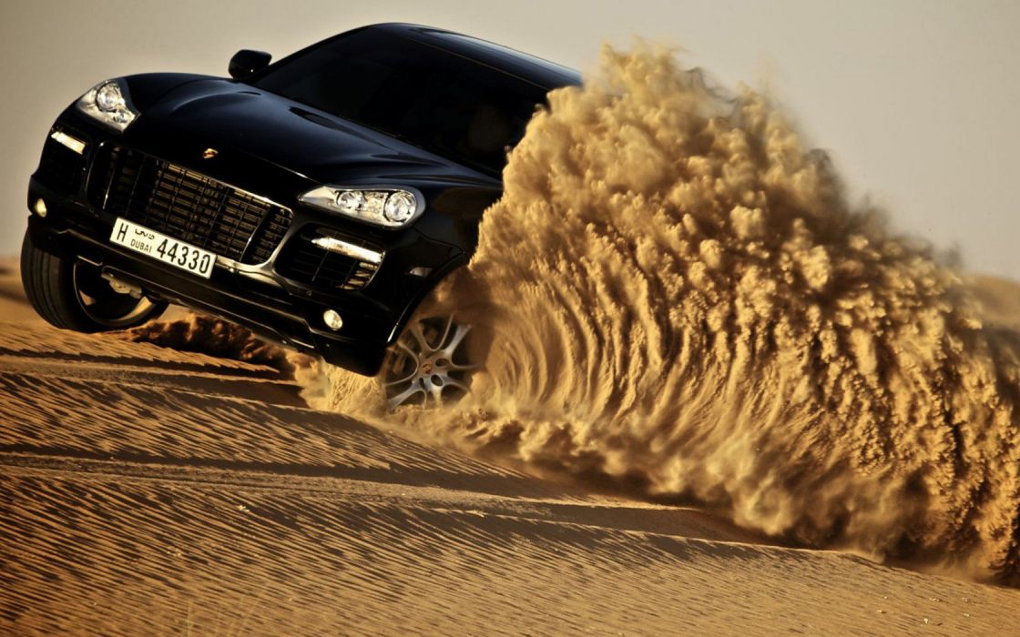 cars vehicles Porsche Cayenne offroad wallpaper