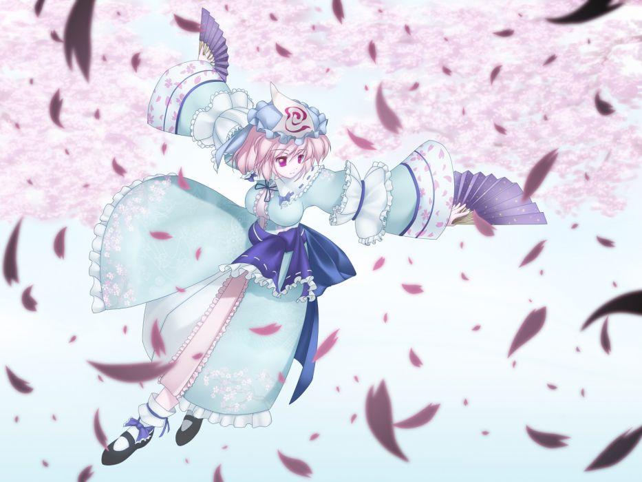 Touhou Saigyouji Yuyuko  wallpaper