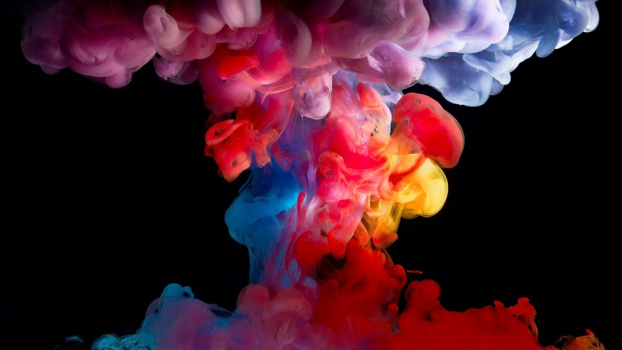smoke paint colored colors wallpaper