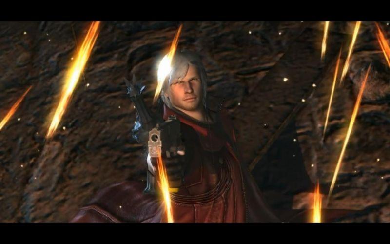 guns fire Devil May Cry Dante sparks swords dmc wallpaper