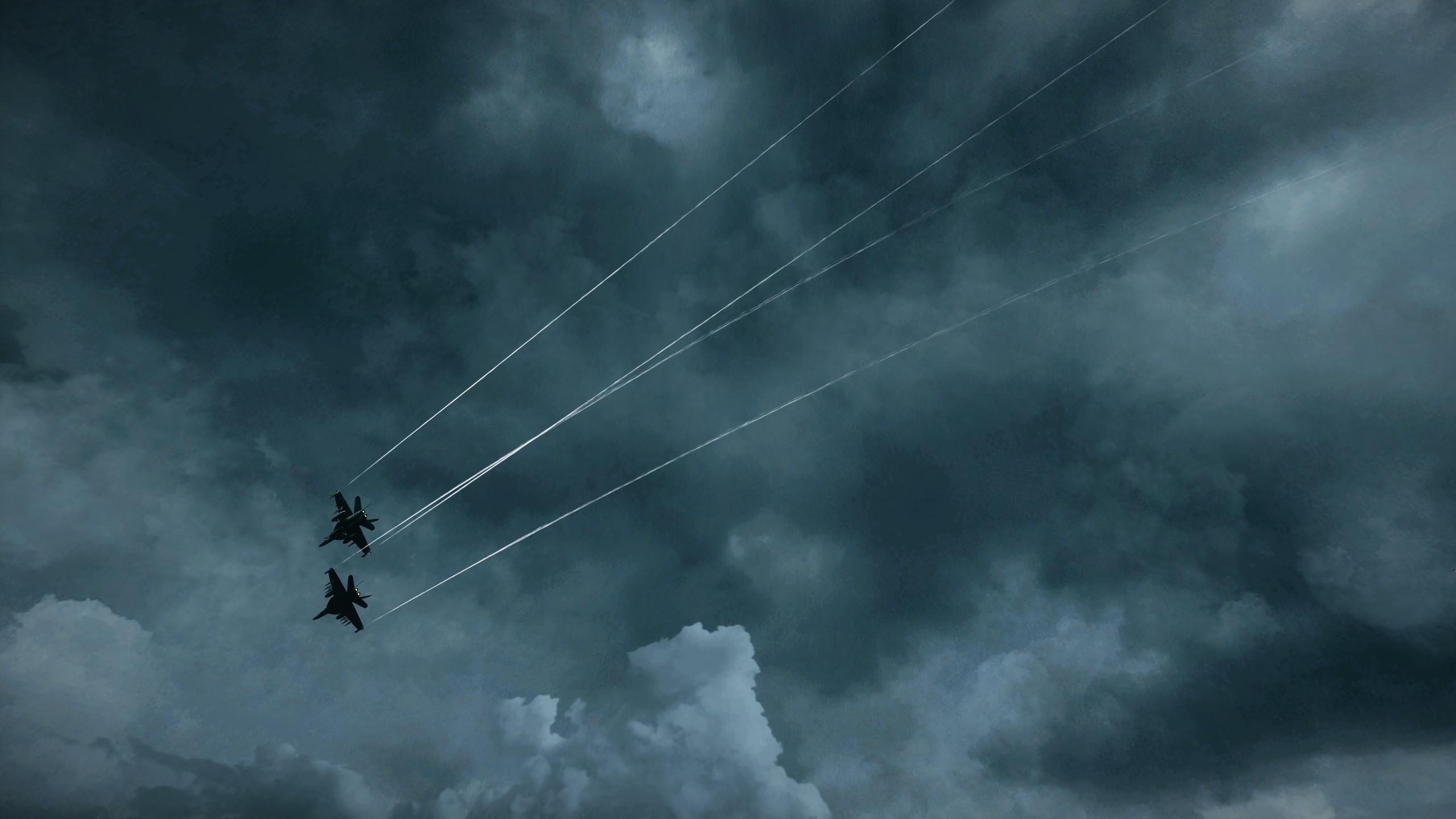 Video Games Jet Aircraft Wallpaper  2560x1440 209381 WallpaperUP