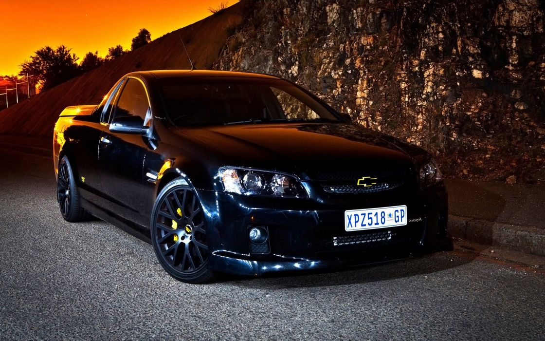 black cars Chevrolet vehicles Holden Commodore racing cars wallpaper
