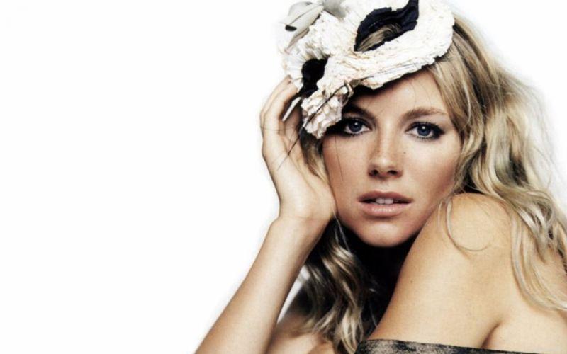 blondes women actress Sienna Miller wallpaper