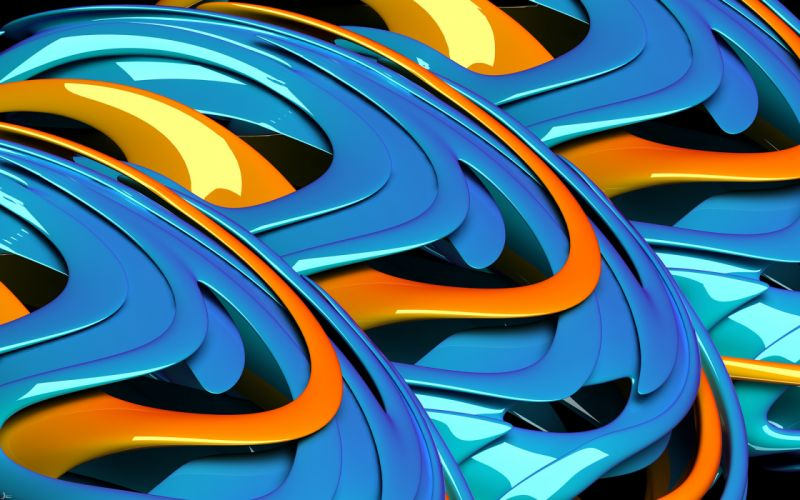 abstract blue glossy texture wallpaper