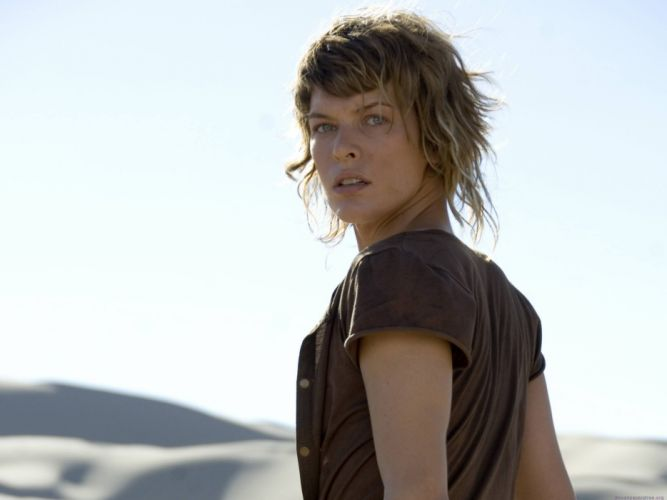 women actress models Milla Jovovich wallpaper