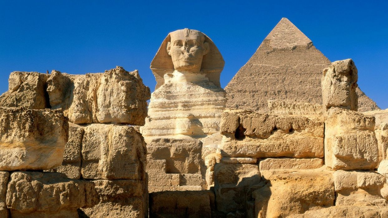 Egypt sphinx Giza wallpaper