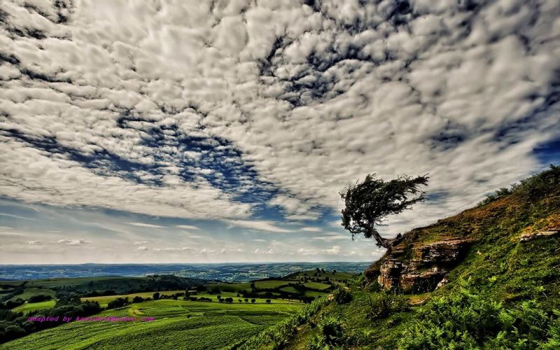 clouds landscapes HDR photography skyscapes wallpaper
