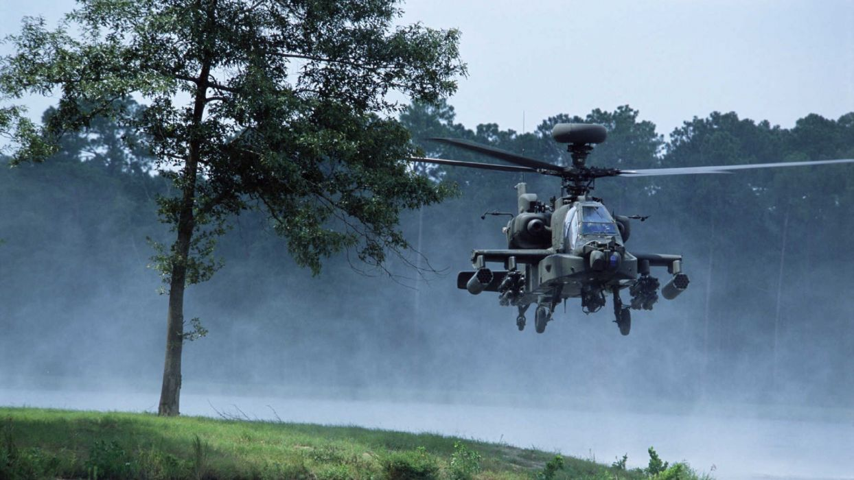 guns army Iraq AH-64 Apache Marines wallpaper