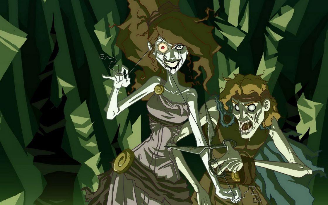 Disney Company dark Hercules twisted Megara wallpaper