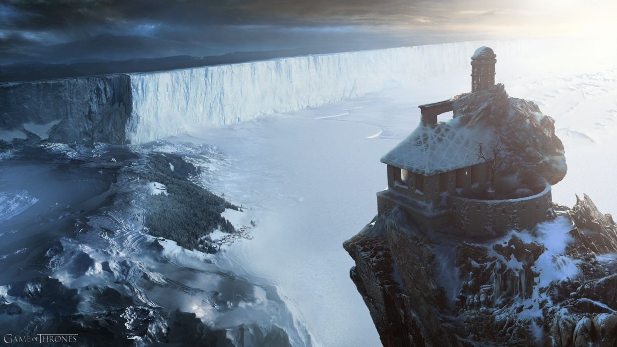 Ice Wall North Fantasy Art Digital Artwork Game Of Thrones Wallpaper