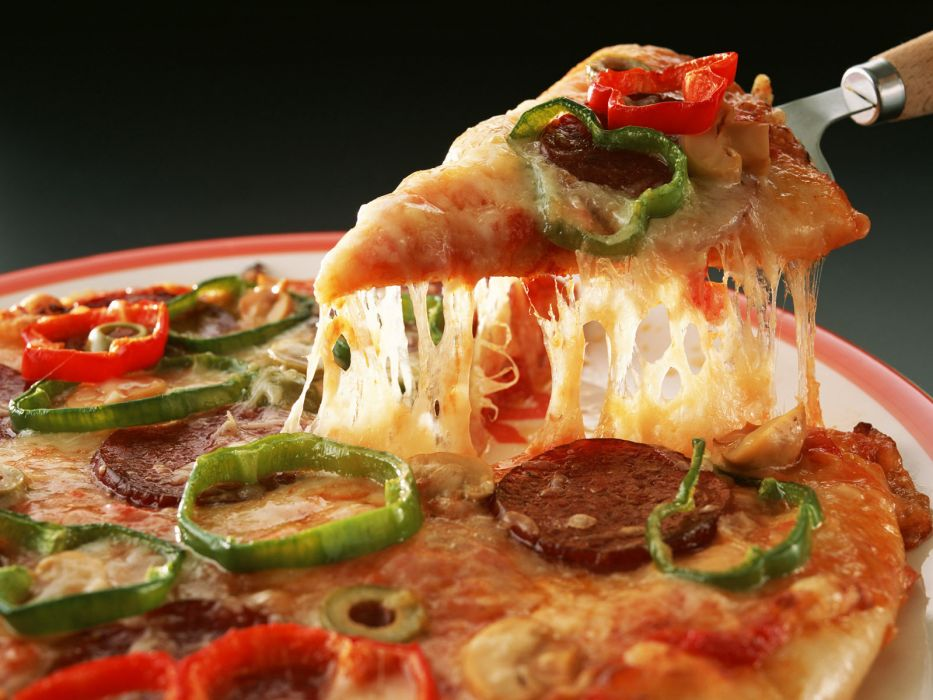 food pizza cheese wallpaper