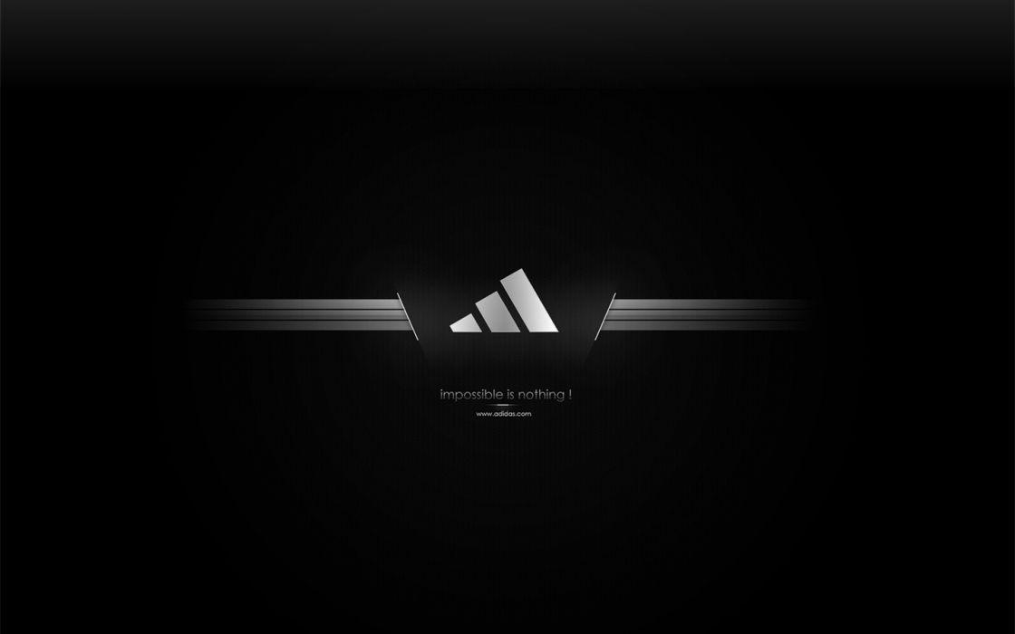 black sports Adidas stripes wallpaper