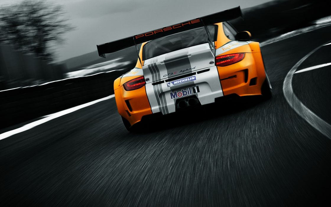 Porsche cars Hybrid gt3 wallpaper