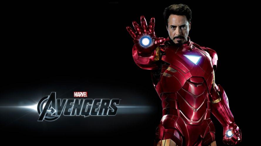 Iron Man Tony Stark Robert Downey Jr The Avengers (movie) wallpaper