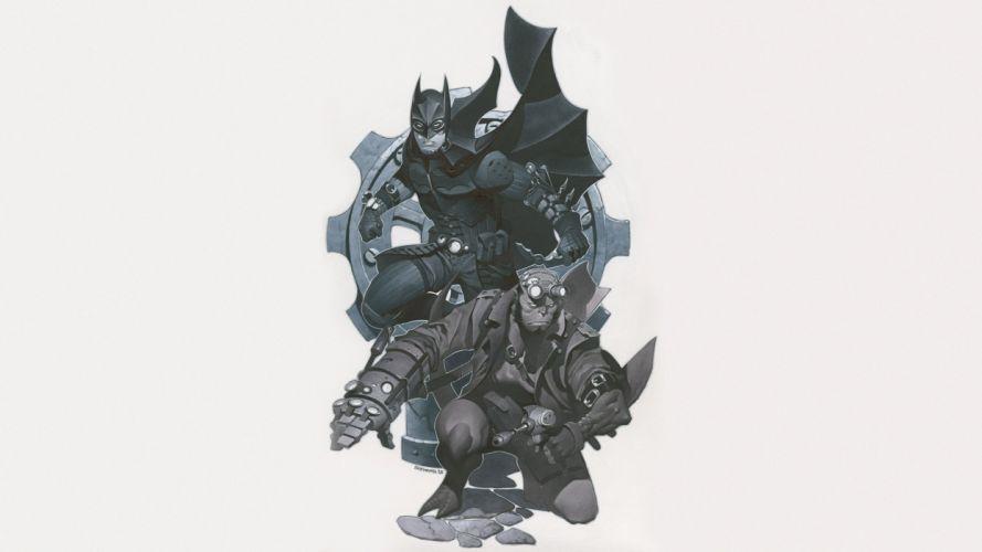 Batman Hellboy wallpaper