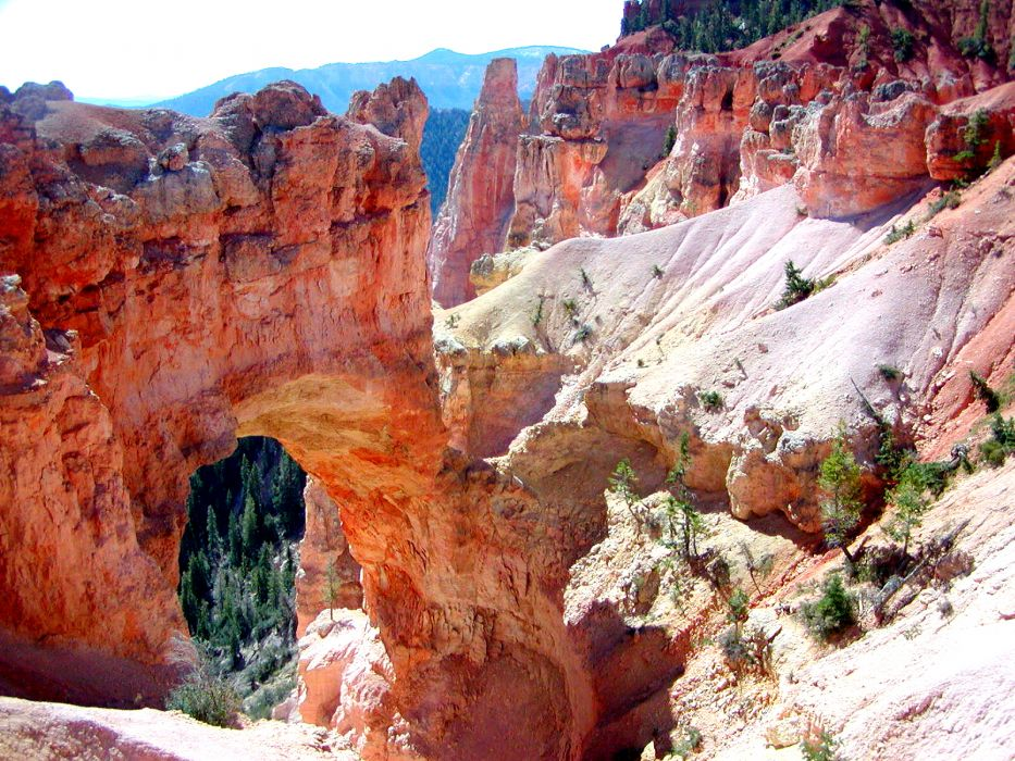 landscapes canyon Bryce Canyon Utah National Park rock formations wallpaper