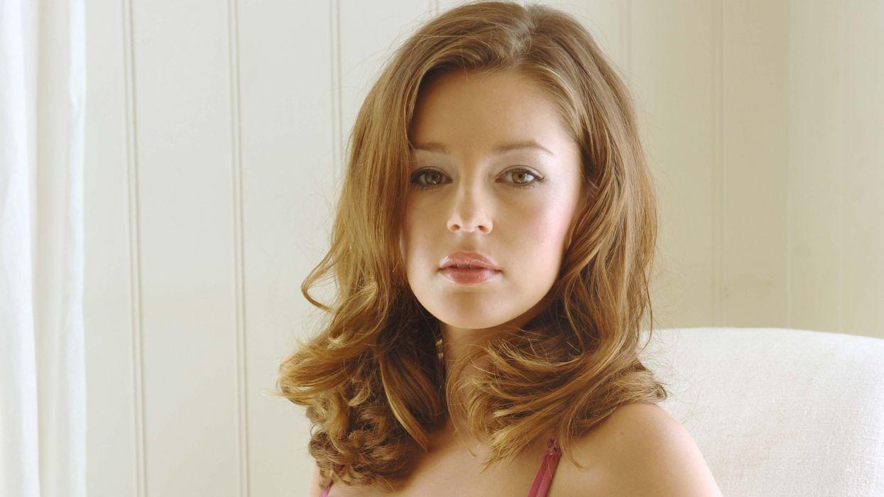 brunettes women eyes models Keeley Hazell brown eyes wallpaper