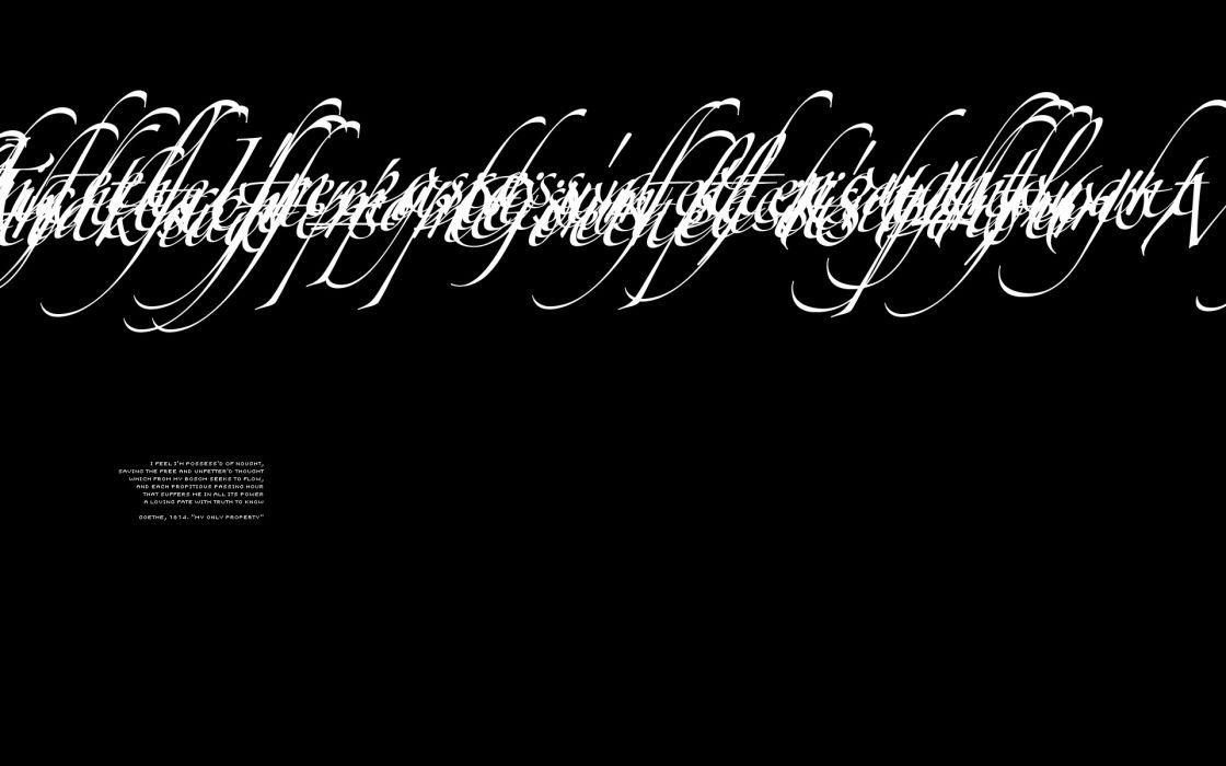 text typography poetry literature calligraphy black background Johann Wolfgang von Goethe wallpaper