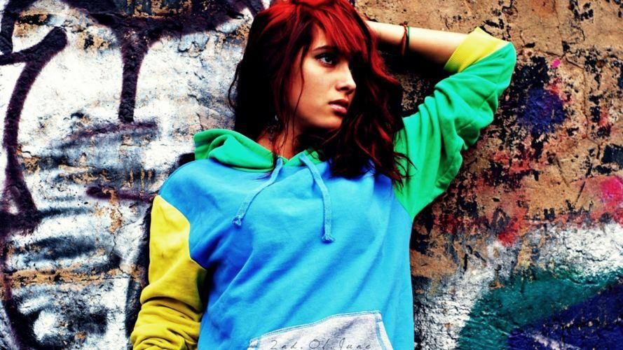 brunettes women redheads models wallpaper