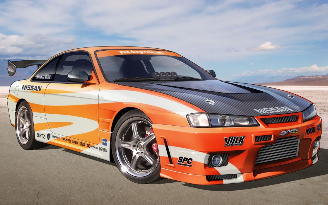 cars Nissan tuning Nissan Silvia JDM Japanese domestic market wallpaper