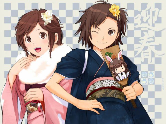 Amagami SS Sakurai Rihoko wallpaper