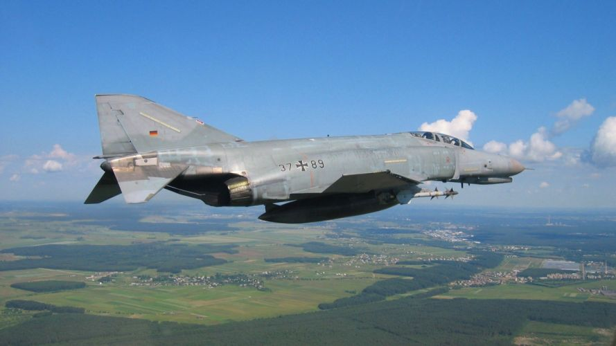 aircraft phantom F-4 Phantom II McDonnell Douglas wallpaper