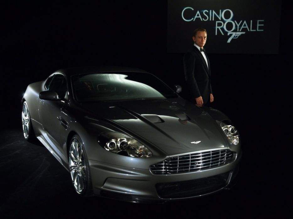 cars Aston Martin James Bond Casino Royale vehicles wallpaper