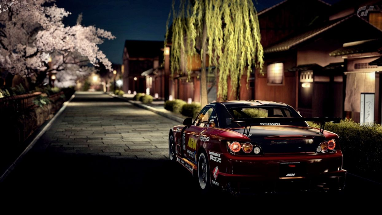 dark night Honda cars vehicles Honda S2000 GT5 automobile wallpaper