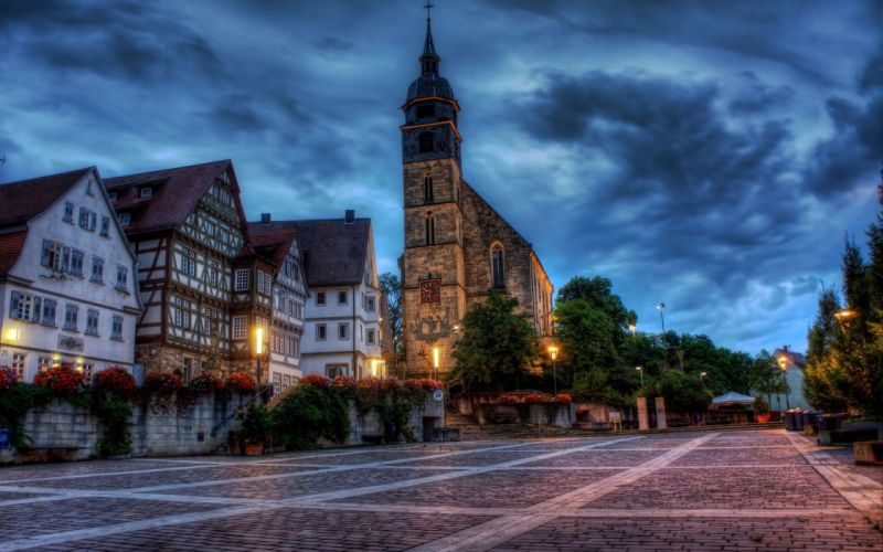 cityscapes Germany wallpaper
