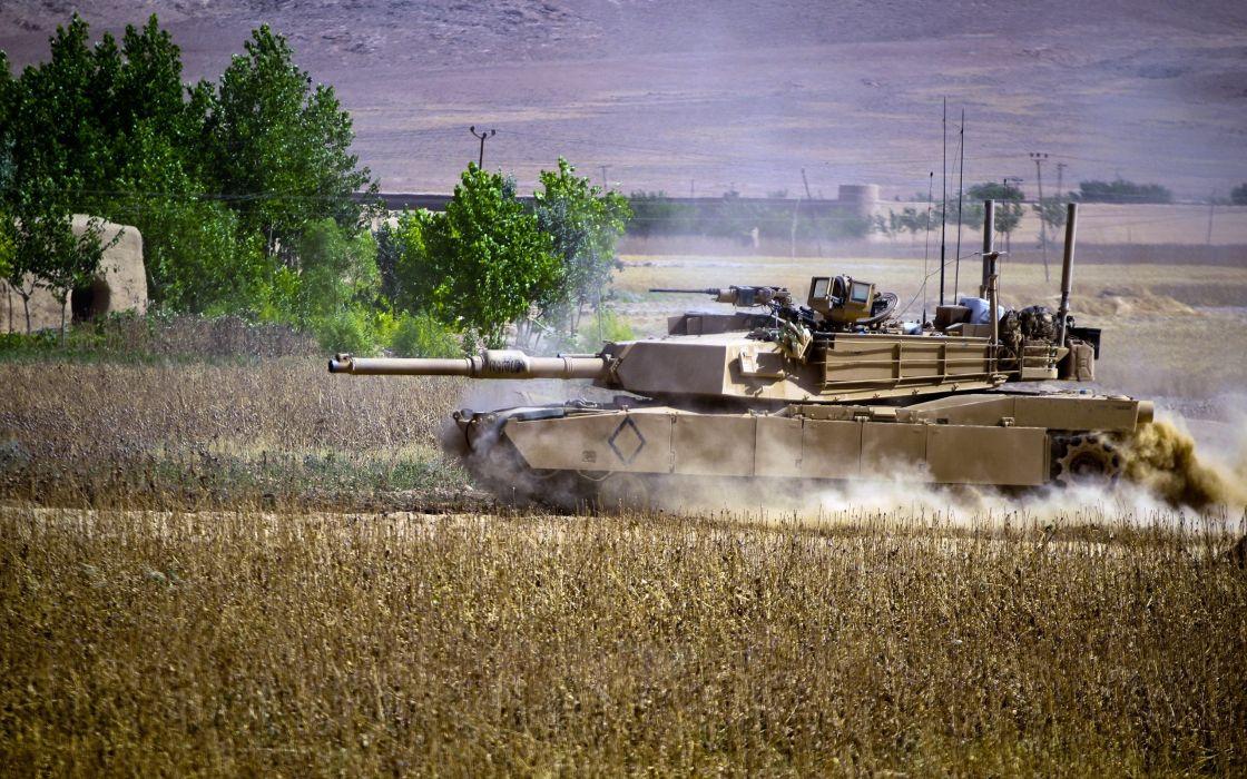 Abrams tanks wallpaper