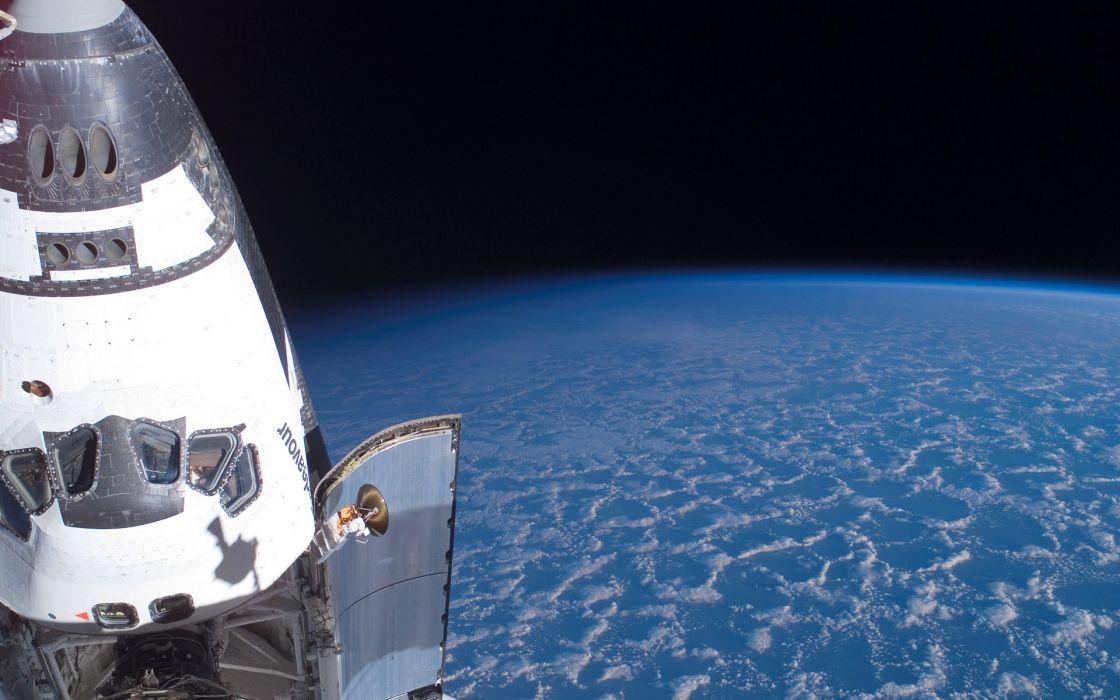Space Shuttle NASA orbit Space Shuttle Endeavour wallpaper