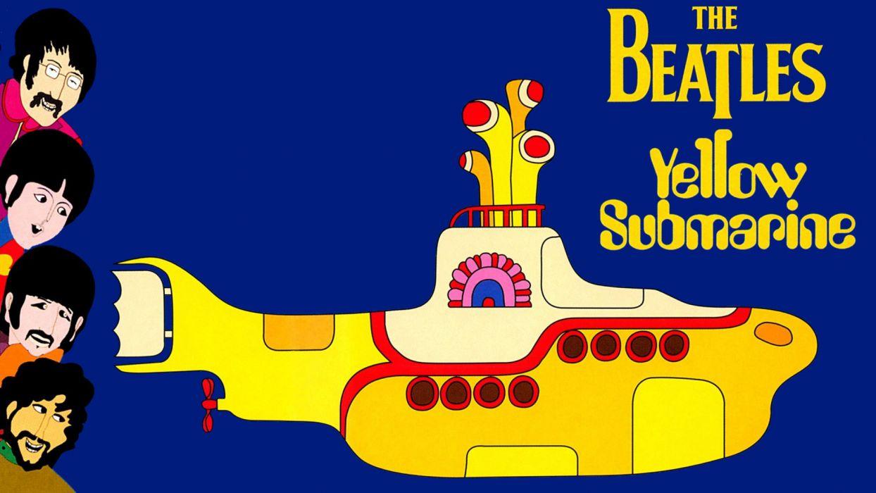 The Beatles Yellow Submarine wallpaper