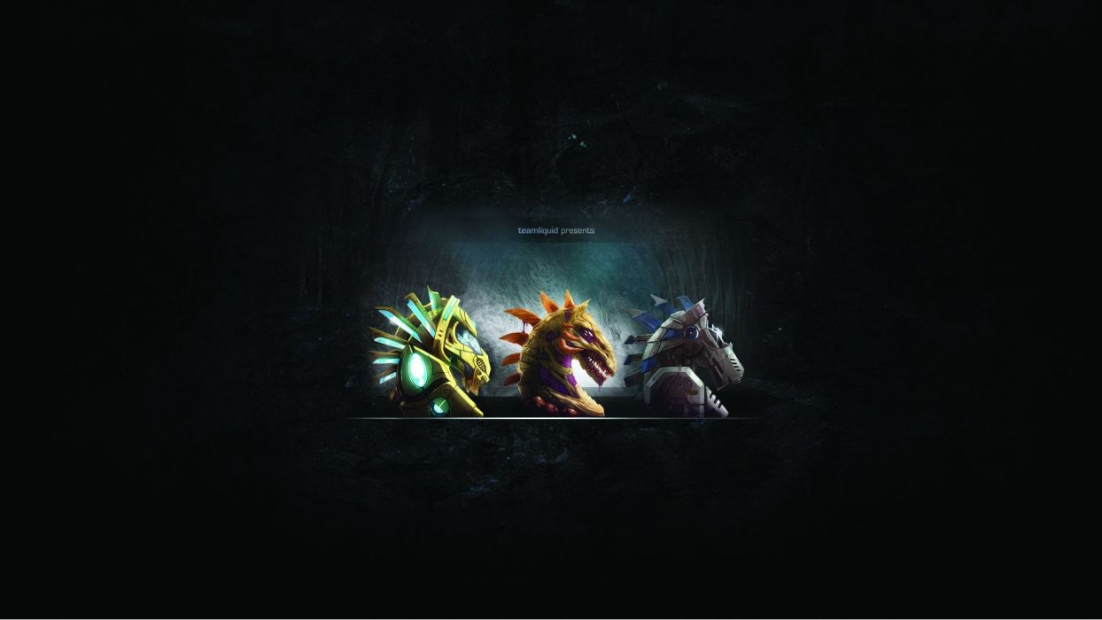 StarCraft knights Zerg Terran Protoss chess pieces Team Liquid mechanism wallpaper