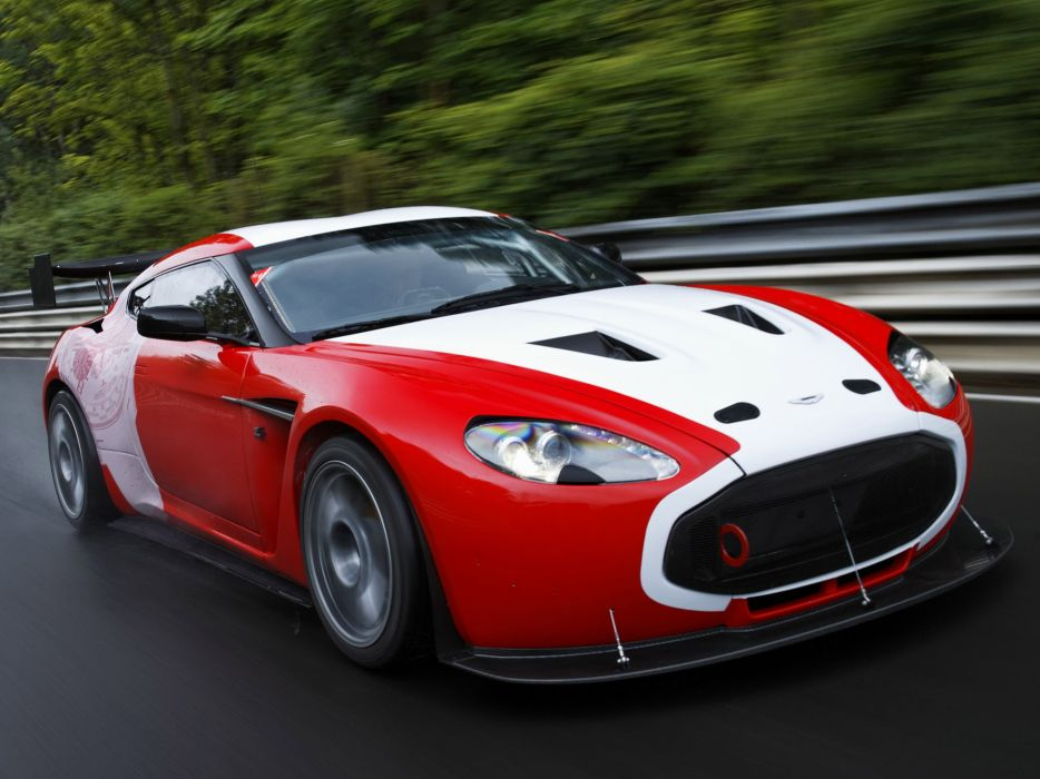 cars Aston Martin race Zagato V12 wallpaper