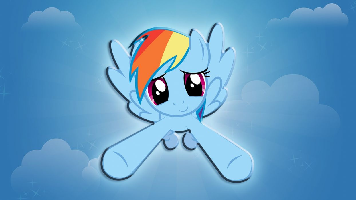 incoming Rainbow Dash My Little Pony: Friendship is Magic wallpaper