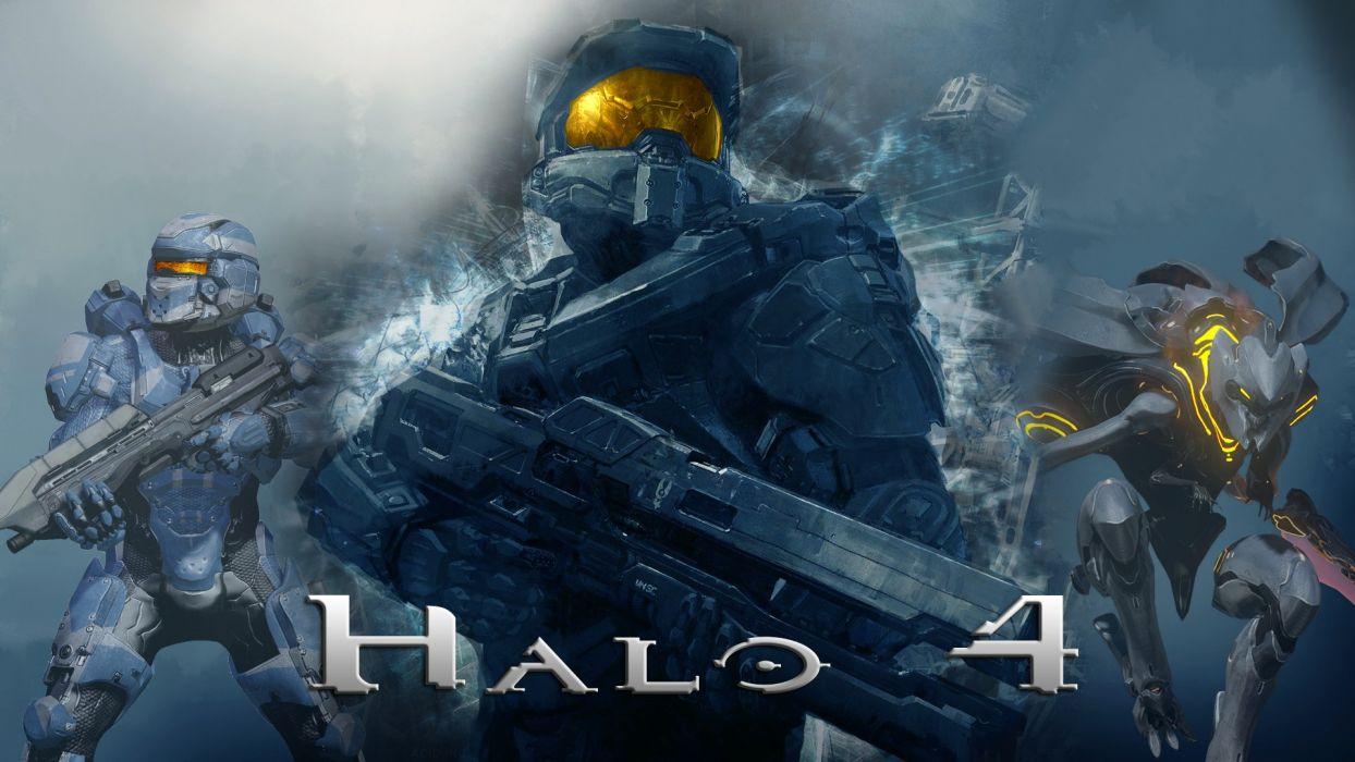 Halo Master Chief Halo 4 Forerunner Promethean Spartan IV wallpaper