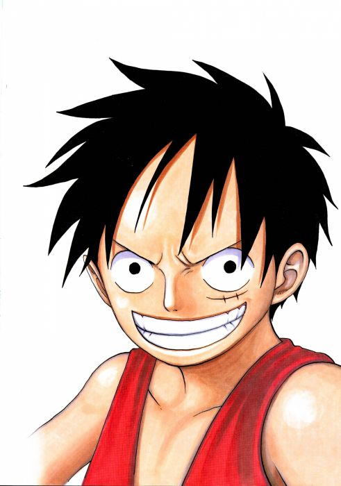 One Piece Anime Anime Monkey D Luffy Wallpaper 2104x3000