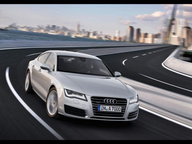 cars vehicles Audi A7 German cars wallpaper