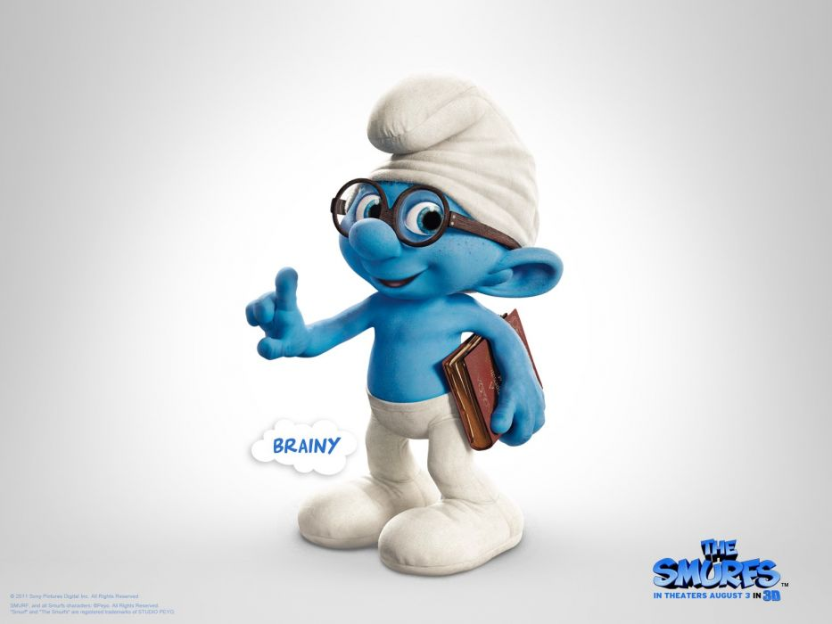 movies film animation The Smurfs movie posters wallpaper