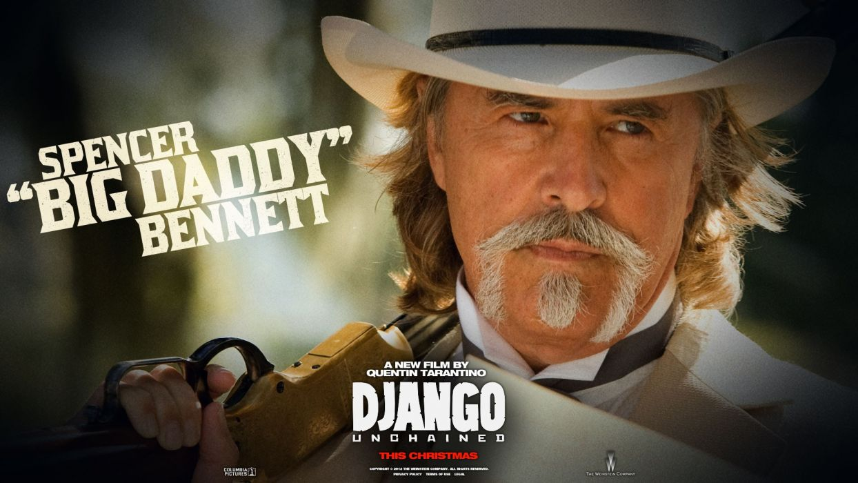movies Quentin Tarantino widescreen Django Unchained Don Johnson wallpaper