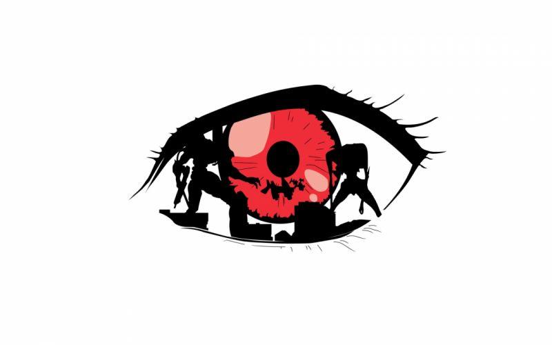 Neon Genesis Evangelion anime simple background wallpaper
