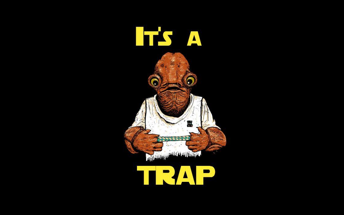 Star Wars text wallpaper
