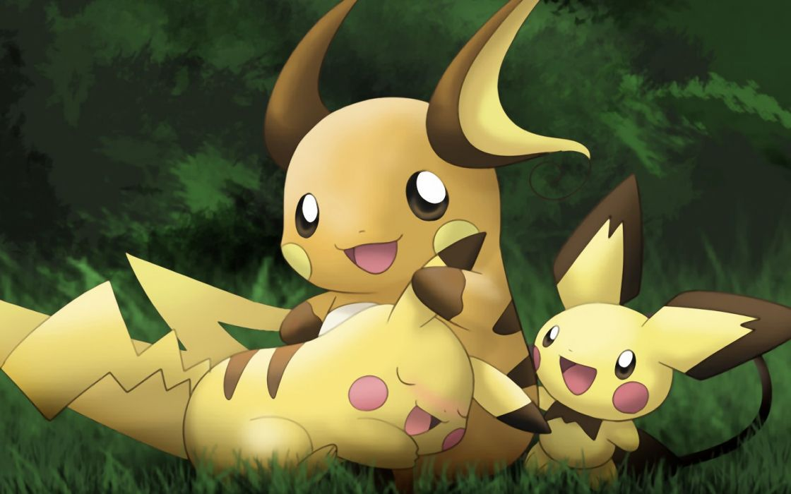 Pokemon love Pikachu wallpaper