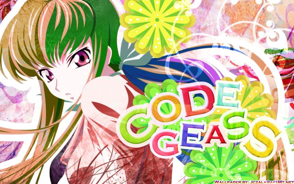 Code Geass C_C_ wallpaper