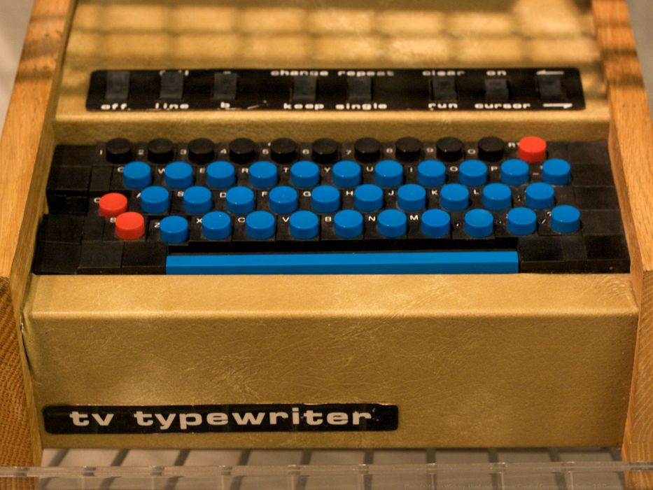 keyboards terminal computers history Marcin Wichary wallpaper