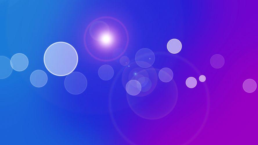 light abstract blue purple circles gradient colors wallpaper