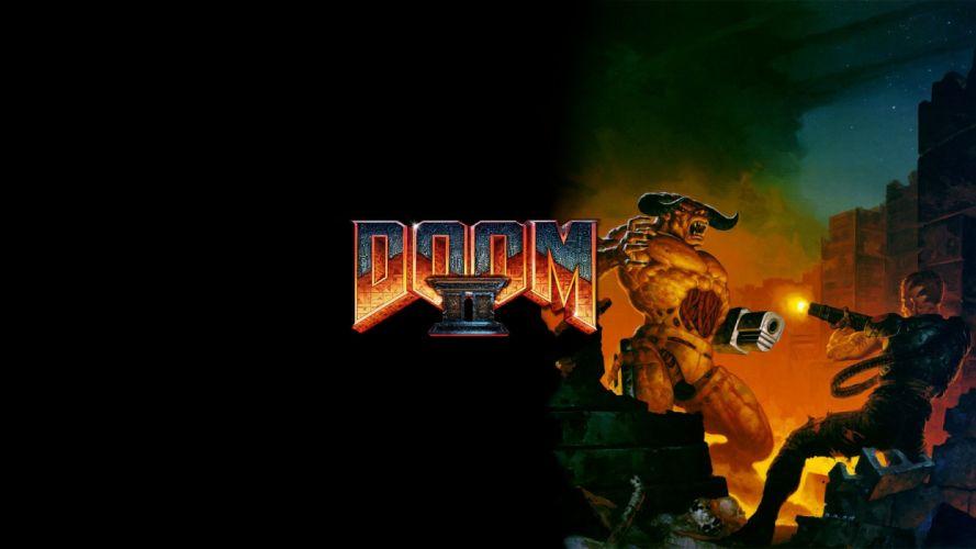 Doom retro games games wallpaper